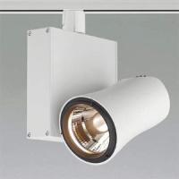 受注生産品 コイズミ照明 LEDスポットライト LED一体型 ライティングレール取付タイプ 電球色(3000K) 個別調光タイプ JR12V50W相当 ホワイト XS46150L|dendenichiba