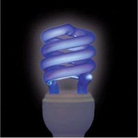 ジェフコム 電球形蛍光ランプ スパイラル形 ブラックライト E26口金 EFD23-SSBK|dendenichiba|02