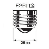 ジェフコム 電球形蛍光ランプ スパイラル形 ブラックライト E26口金 EFD23-SSBK|dendenichiba|03