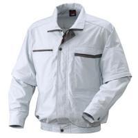 リョービ 充電式クーリングジャケット OUTLET SALE XXLサイズ 長袖 現品 シルバー BCJ-XXL2 半袖兼用タイプ