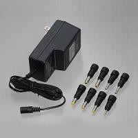 【特長】●出力電圧を6段階に切替が可能です。 ●変換プラグ8本付きなので、多種の製品に使用可能です。...