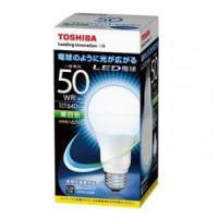 東芝 ケース販売 10個セット LED電球 E-CORE 誕生日プレゼント 一般電球形 光が広がるタイプ E26口金 50W_set 昼白色相当 50W形相当 半額 LDA7N-G 全光束640lm