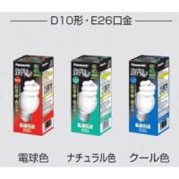 生産完了品 パナソニック 電球形蛍光灯40W形 (クール色) パルックボールスパイラルD形 (口金E26) EFD10ED/8|dendenichiba
