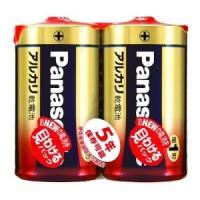 パナソニック アルカリ乾電池 単1形 2本パック LR20XJ/2SE dendenichiba