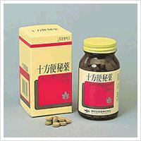 製品の特徴  ☆十方便秘薬は,ダイオウ,センナ及びアロエなど8種の生薬を配合したおだやかな排便をうな...