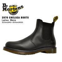 ドクターマーチン 2976 チェルシー ブーツ メンズ レディース ブラック Dr. Martens 2976 CHELSEA BOOT BLACK 11853001