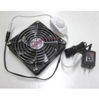 スピードコントローラ+電源付小型卓上ファン(扇風機)