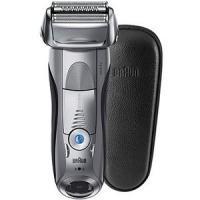 アウトレット ブラウン メンズシェーバー シリーズ7 水洗い お風呂剃り可 本革ケース付 7893s-SP 新品