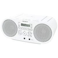 ●ソニー ZS-S40-W CDラジオ(ホワイト)