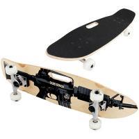 ●ストリートにおけるクルージングの快適性にこだわり、グリップデッキ採用した、クルージングスケートボー...