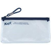 レイメイ藤井 KPF502-K 【メール便での発送商品】Kept クリアペンケース(ワイド) (ネイビー) (KPF502K)