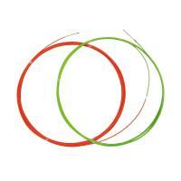 【送料無料】狭いスキ間、追加配線に威力を発揮。 細い線直径3mm 10m(グリーン)で案内し、太い線...
