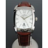 オロビアンコ OROBIANCO 腕時計 メンズ レッタンゴラ モデルシルバーダイヤル ブラウンクロ...