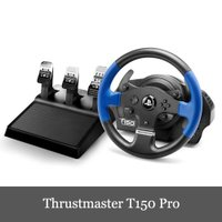スラストマスター Thrustmaster T150 Pro Force Feedback Racing Wheel レーシング ホイール 輸入版 PS3/PS4/PC 対応 保証1年 並行輸入品