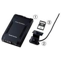 <セット内容>ドライブレコーダー本体広画角CCDカメラSDメモリーカード(再生ソフト内蔵:1GB)安...