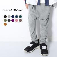 子供服 ロングパンツ キッズ 韓国子供服 devirock スウェットサルエルパンツ 男の子 女の子 ボトムス ズボン 全11色 80-160 M1-1