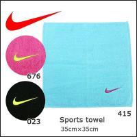 ■NIKE【ナイキ】  ソリッド コア タオル Sサイズ  テリーループ使用のタオル。 スウッシュの...