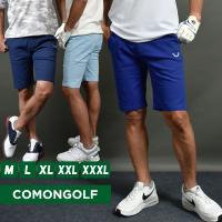 COMON GOLFストレッチゴルフショートパンツ  ●トップボタンにジップフライ開き。 ●両サイド...