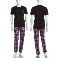 ディーゼル【DIESEL】Tシャツ/パンツ/セットアップ/UMSET-JADE-PIGIAMA 【カ...