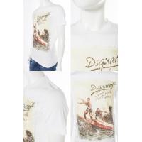 ディースクエアード DSQUARED2 Tシャツ 半袖 丸首 メンズ S71GD0360S20694 ホワイト
