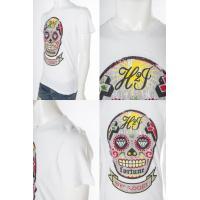 ハイドロゲン HYDROGEN Tシャツ 半袖 丸首 メンズ 180030 ホワイト