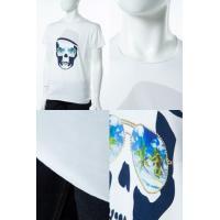2017年春夏新作 ルシアンペラフィネ lucien pellat-finet Tシャツ 半袖 丸首 メンズ EVH1898 ホワイト 2017SS_SALE