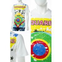 ディースクエアード DSQUARED2 Tシャツ 半袖 丸首 メンズ S74GD0207S22507 ホワイト