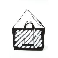 2017年春夏新作 オフホワイト OFF-WHITE トートバッグ ショルダーバッグ カバン 鞄 OMNA003S 108079 ブラック 2017SS_SALE