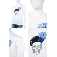 ルシアンペラフィネ lucien pellat-finet Tシャツ 半袖 丸首 メンズ EVH1914 ホワイト 目玉商品