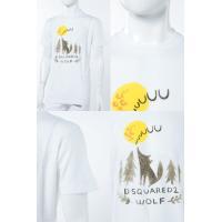ディースクエアード DSQUARED2 Tシャツ 半袖 丸首 メンズ S74GD0248S22507 ホワイト 2017年秋冬新作 2017AW_SALE