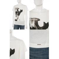ディーゼル DIESEL Tシャツ 半袖 丸首 T-DIEGO-DC-D MAGLIETTA メンズ 00STLI 0QAML アイボリー