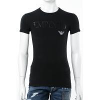 アルマーニ エンポリオアルマーニ Emporio Armani Tシャツアンダーウェア Tシャツ 半袖 丸首 メンズ 111035 CC716 ブラック