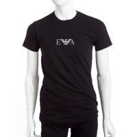 【メール便対象 送料無料】アルマーニ エンポリオアルマーニ Emporio Armani Tシャツアンダーウェア Tシャツ 半袖 丸首 メンズ 111267 CC715 ブラック