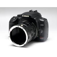標準レンズに取付けることでマクロ撮影が可能になります。  ・レンズ側マウント、ボディ側マウント、中間...