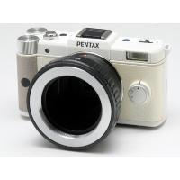 M42マウントレンズを「ペンタックス Qマウントのカメラ」で使用できるようにするためのマウントアダプ...