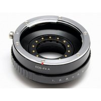 キヤノン EOS EF レンズをフジフイルム Xマウントで使用できるようにするためのマウントアダプタ...