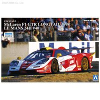 アオシマ 1/24 マクラーレン F1 GTR ロングテイル 1998 ルマン24時間 #40 プラ...