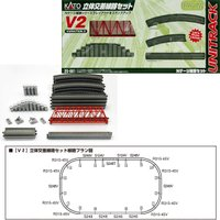 20-861 カトー KATO (V2)立体交差線路セット Nゲージ  お手持ちのレールに追加して多...