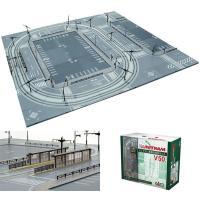 40-800 カトー KATO ユニトラム 路面軌道基本セット V50 Nゲージ  鉄道模型を使って...