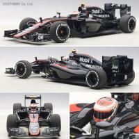 オートアート ミニカー 1/18 マクラーレン MP4-30 ホンダ F1 スペインGP 2015 ...