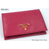 PRADA(プラダ)のレザーシリーズから新素材の2つ折り財布のご紹介です。  ★ブランド名 :プラダ...