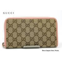 GUCCIから素材に大人気のGG柄キャンバスが採用されたラウンドファスナー長財布のご紹介です。  ★...