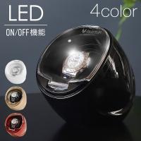 腕時計収納 ワインディングマシーン 1本巻き 自動巻き時計用 静音 ワインディングマシン ウォッチワインダー インテリア 時計 VS-WW011 ギフト プレゼント 1位