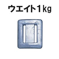 ダイビングには欠かせないウエイト1kg玉です。ご注文のタイミングや数量によりメーカー取寄せになり、お...