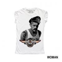 トレーナー Tシャツ メンズ レディーズ トップス RUDE(ルード)ホワイト ブラック バイカー マスターシュ タトゥー