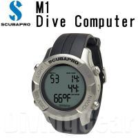 スキューバプロのリストタイプのダイビングコンピューター「M1(エムワン)」。  ダイビングコンピュー...