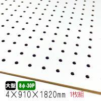 ■サイズ:4mm 3×6(910mm×1830mm) ■ピッチ:8φ−30mm (穴の直径8mm、穴...
