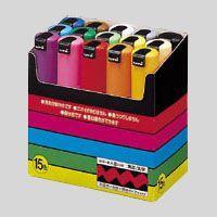 ●規格:太字角芯(8.0mm) ●仕様:15色セットカラー:黒,赤,青,緑,黄,桃,水色,白,黄緑,...