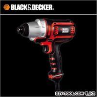 ブラック&デッカー 電動コード式インパクトドライバー (EAI800) 充電切れの心配なしでさまざま...