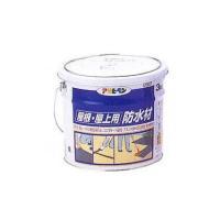 規格: ●3kg 特長: ハケ・コテバケ・コテで塗れる厚膜タイプの防水材です。  石油系アスファルト...